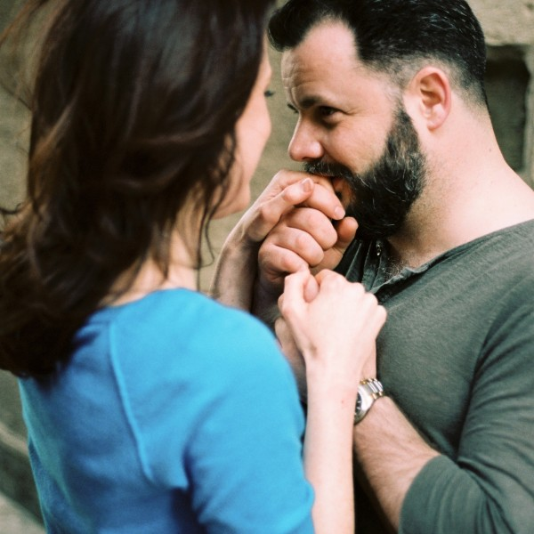 Old City Engagement | Joanna + Alex