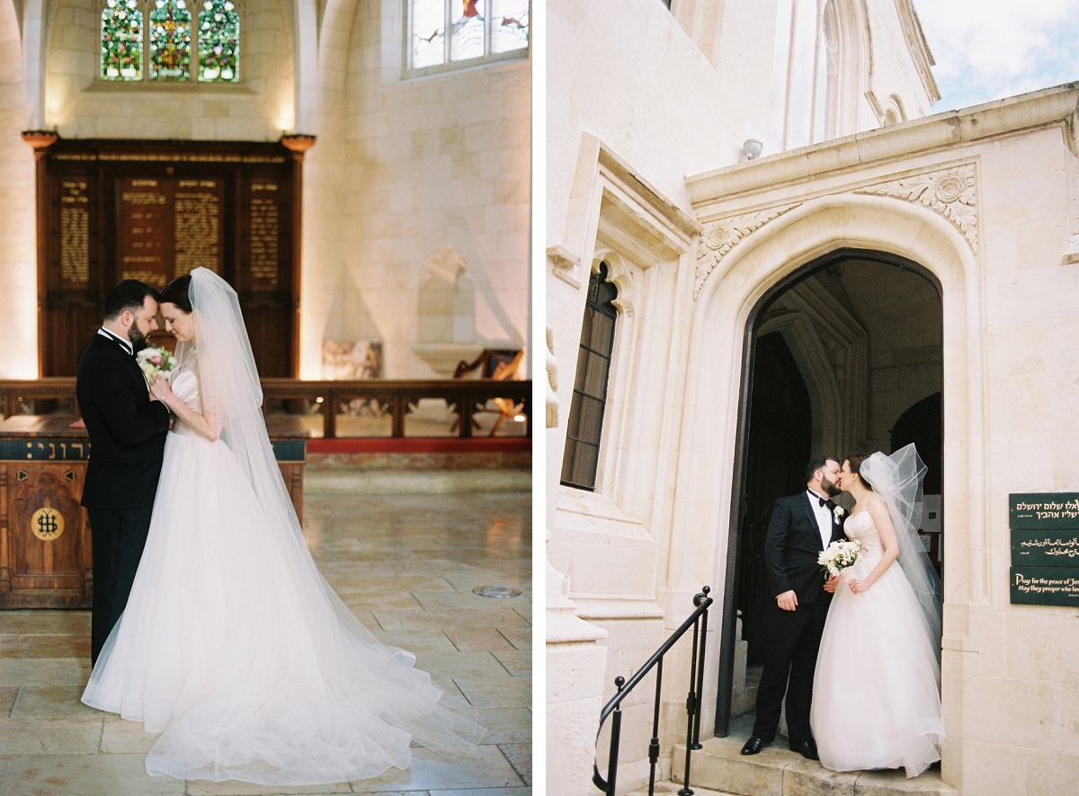 Christ Church - Jerusalem Destination Wedding - Joanna and Alex_0038