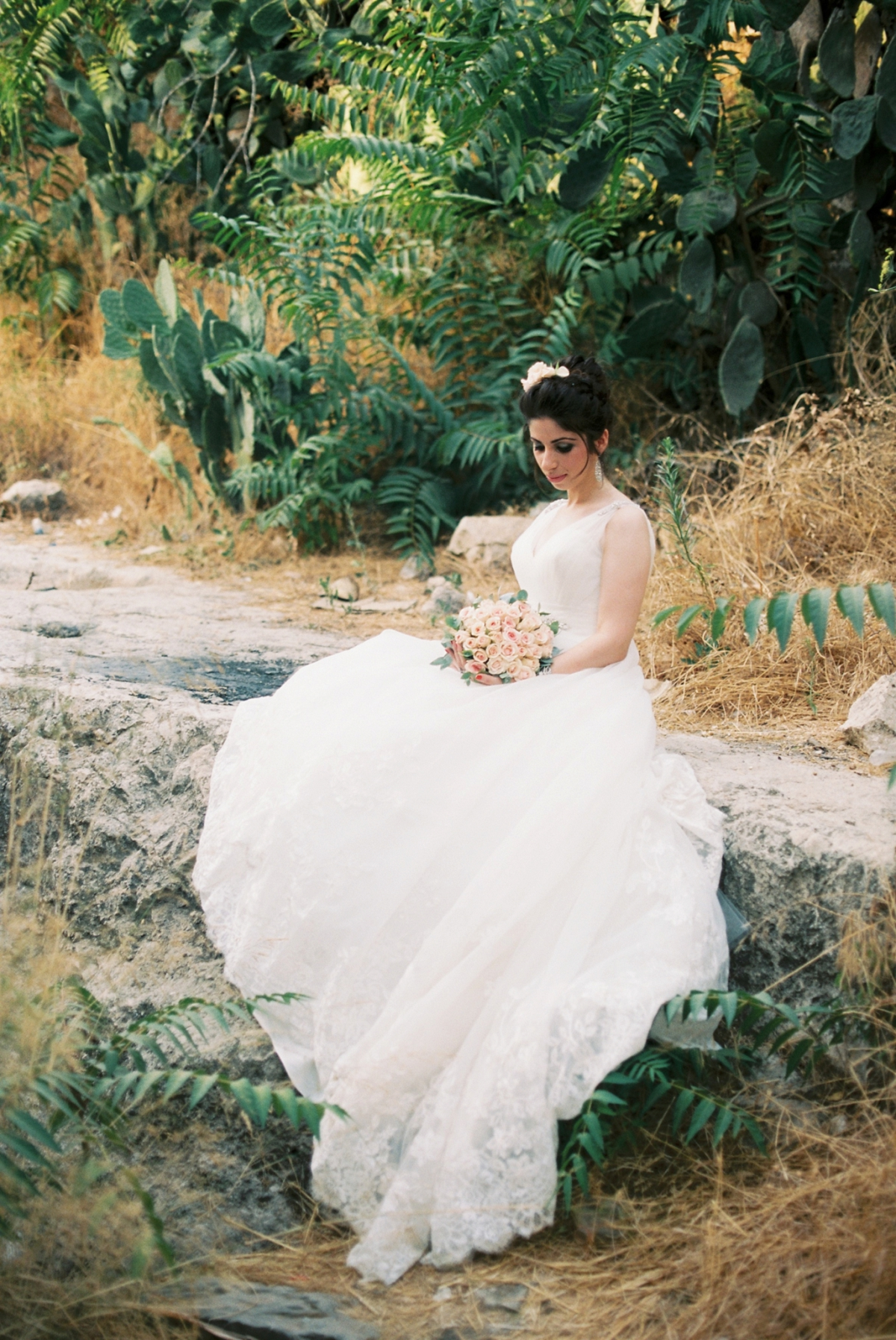 Lifta Bridal Portraits - Jerusalem Israel - Muna and Ali - Sigala Photography_0018