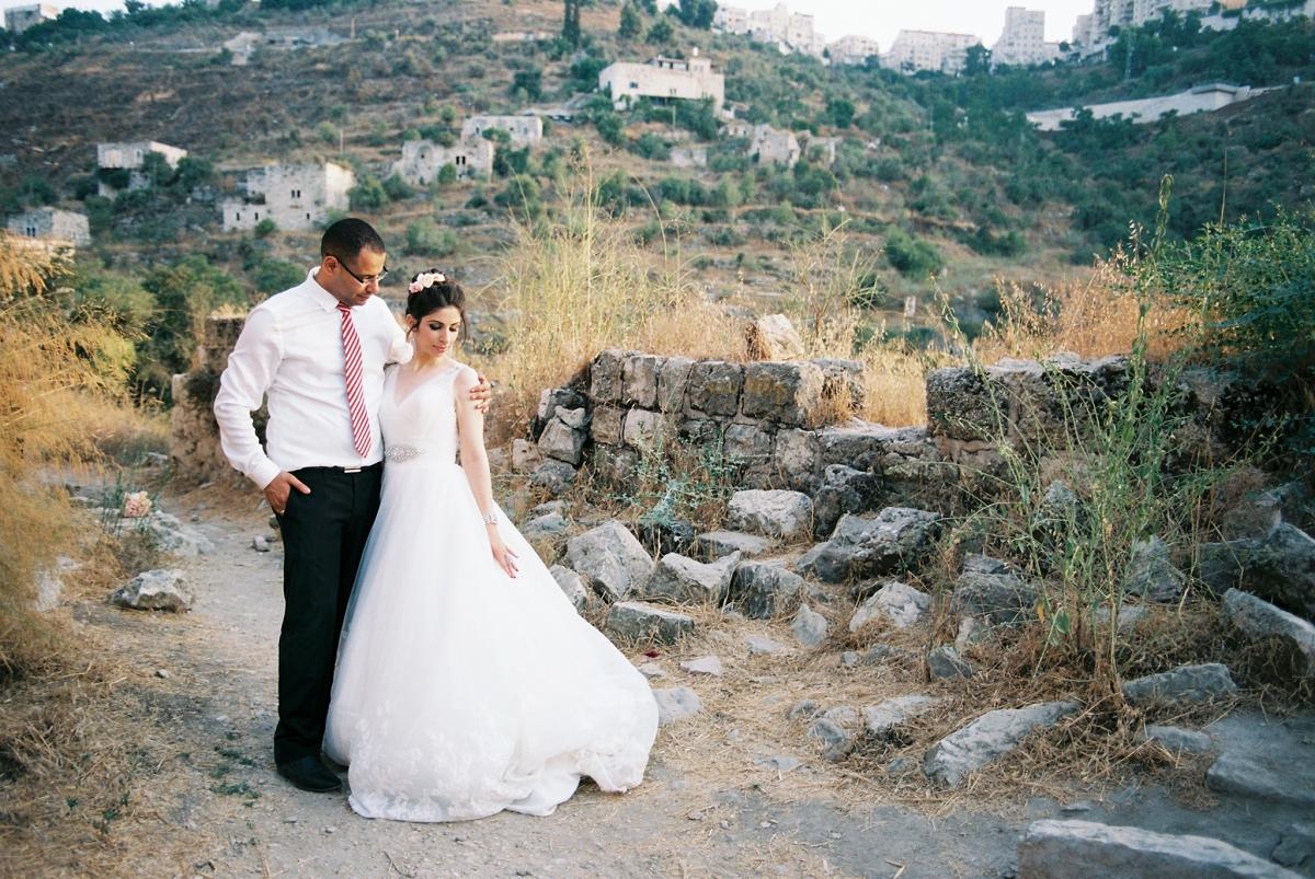 Lifta Bridal Portraits - Jerusalem Israel - Muna and Ali - Sigala Photography_0021