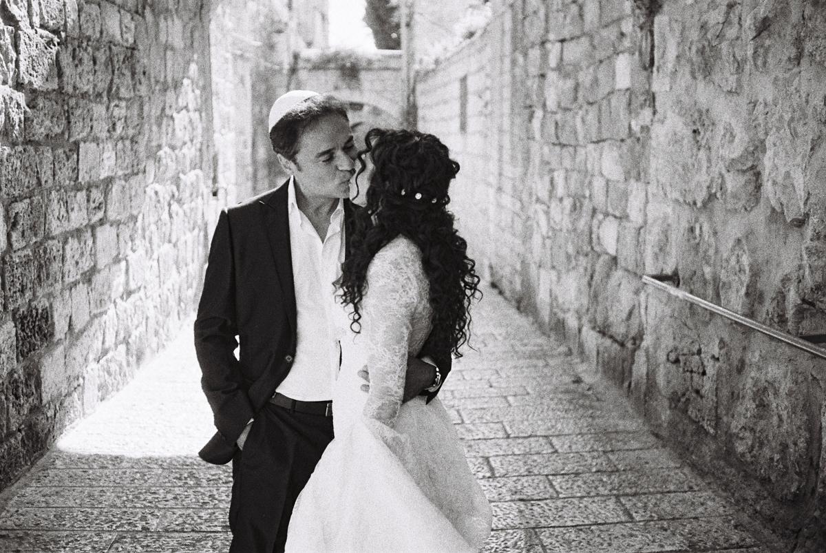 Mount Zion Hotel Wedding - Jerusalem - Mona and Herve-11