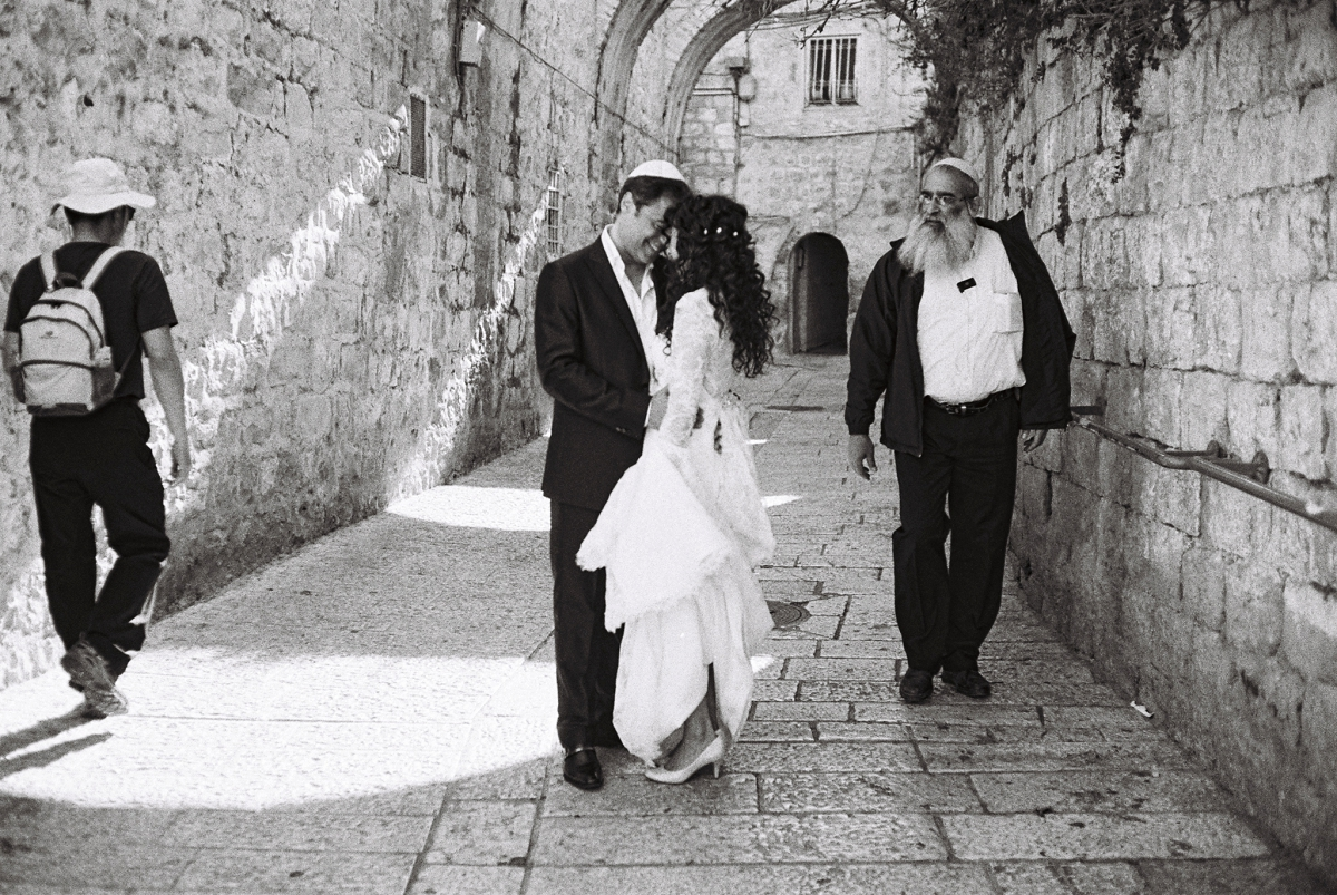 Mount Zion Hotel Wedding - Jerusalem - Mona and Herve-12