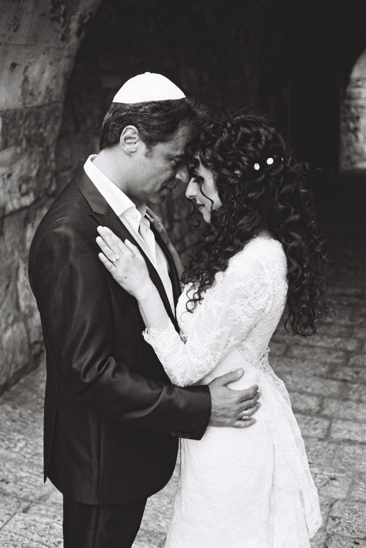 Mount Zion Hotel Wedding - Jerusalem - Mona and Herve-14