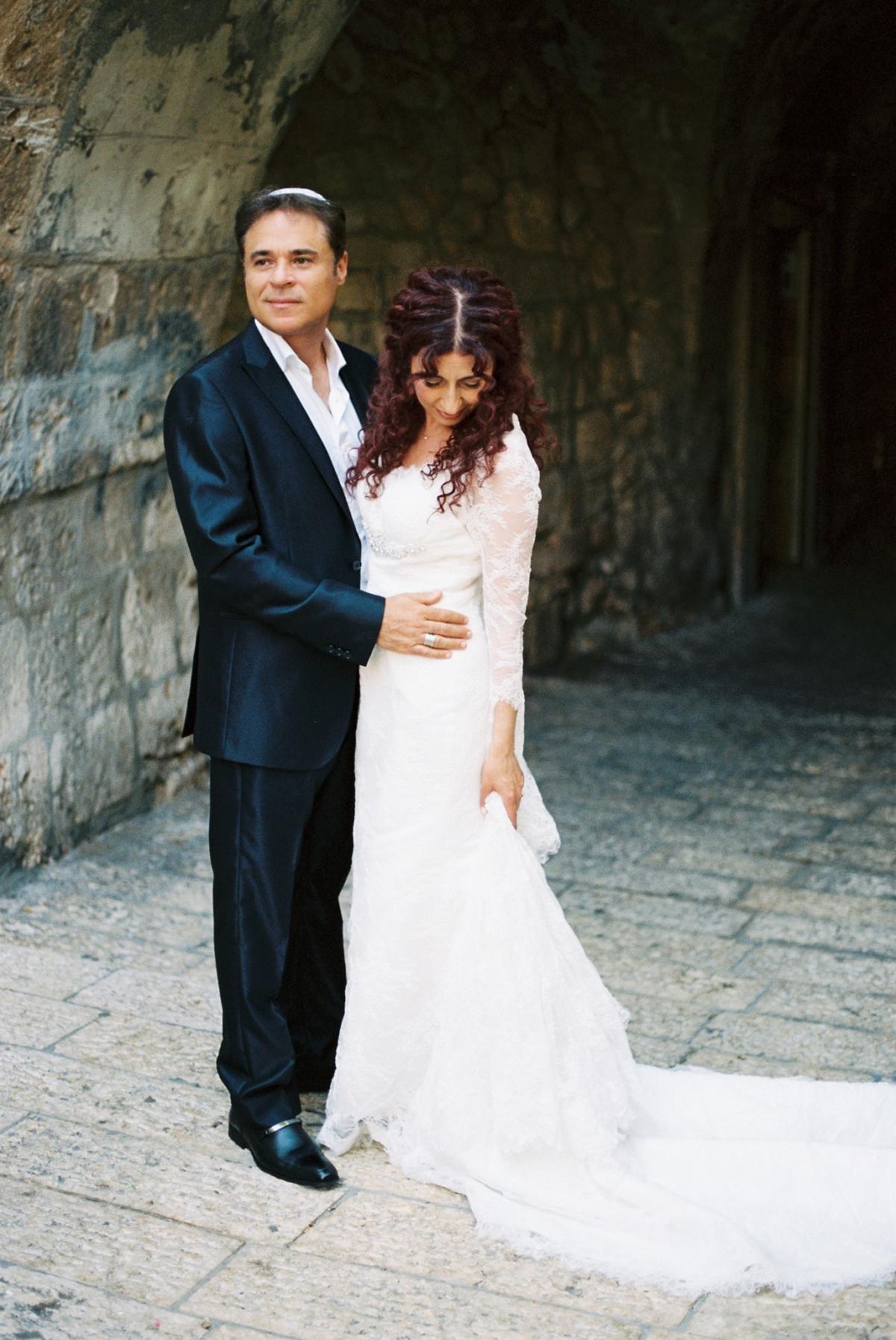 Mount Zion Hotel Wedding - Jerusalem - Mona and Herve-15