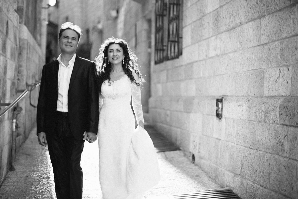 Mount Zion Hotel Wedding - Jerusalem - Mona and Herve-16