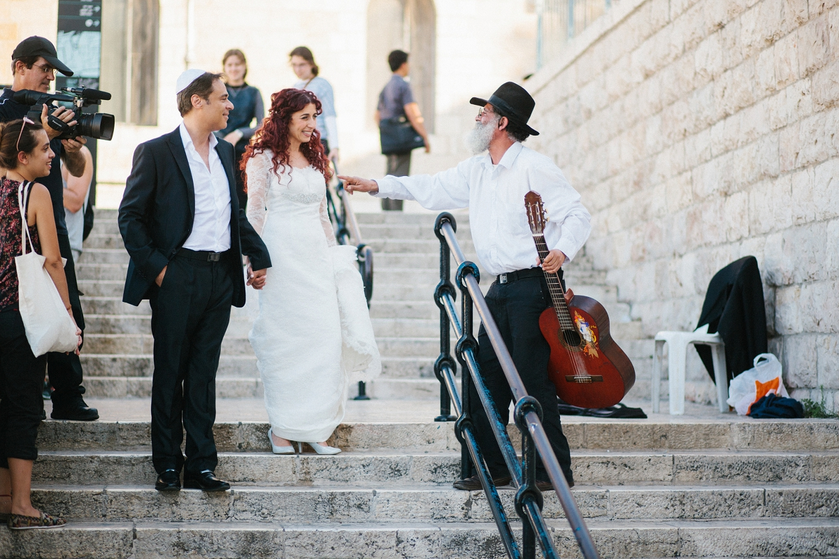 Mount Zion Hotel Wedding - Jerusalem - Mona and Herve-20