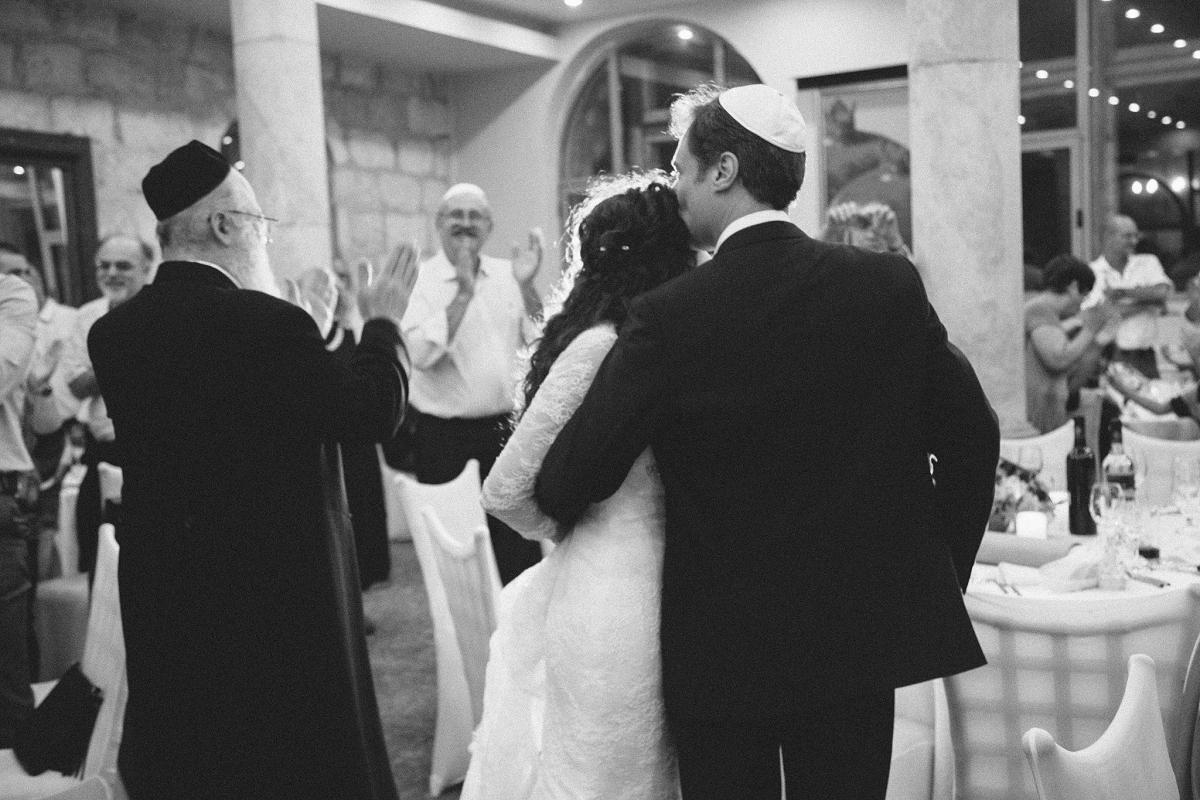 Mount Zion Hotel Wedding - Jerusalem - Mona and Herve-40