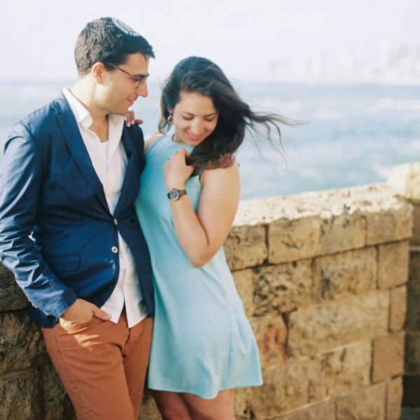 Old City Jaffa Engagement | Simcha + Avi