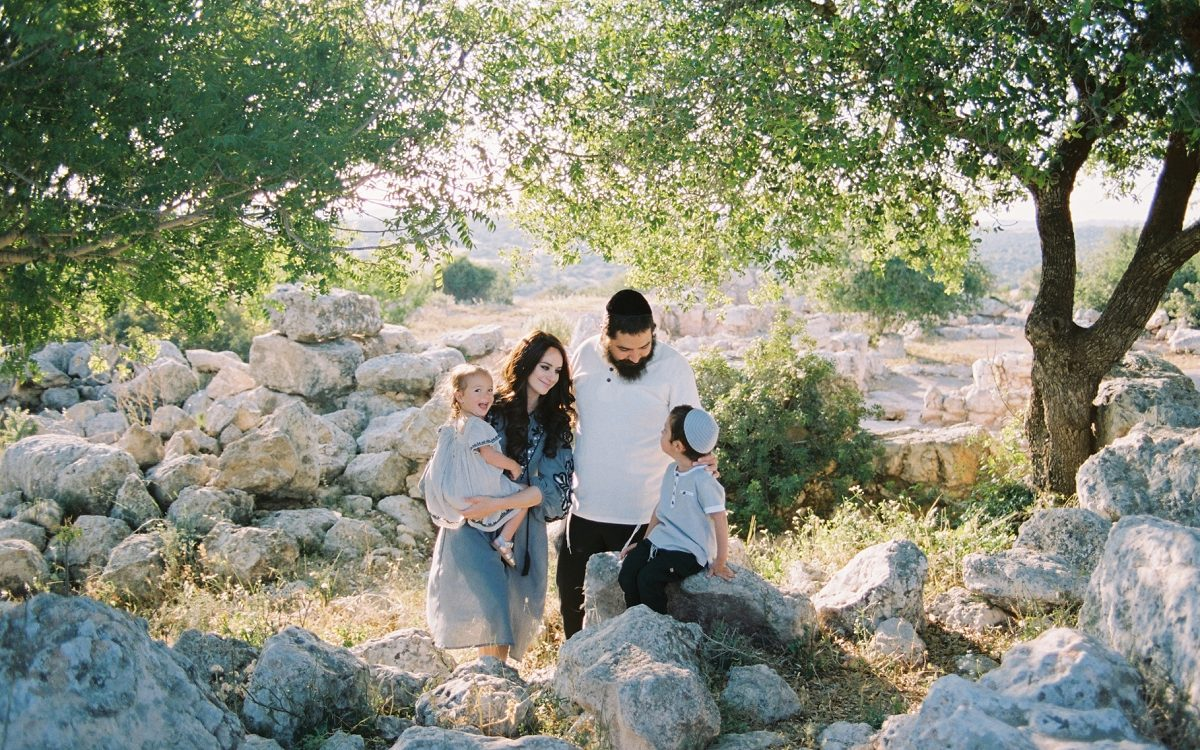 Ella Valley Portraits | Golani Family