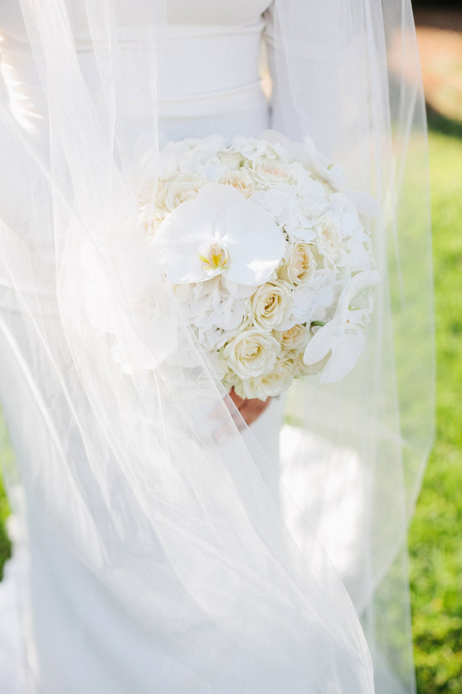 close up of bride's bouquet made my ADAYA Events Design