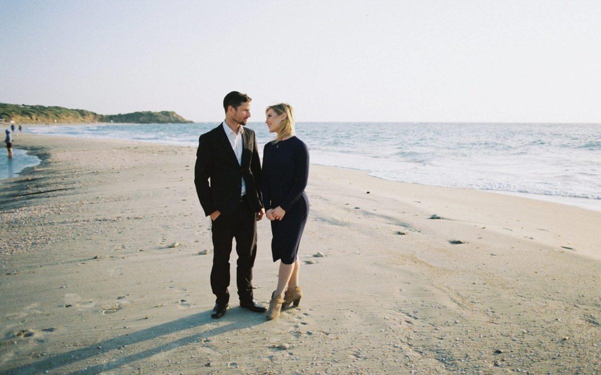 Palmachim Beach Engagement | Rachel + Andre