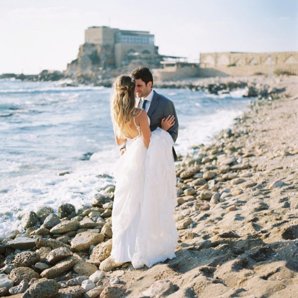 Caesarea Cellars Wedding | Kiley + Maayan